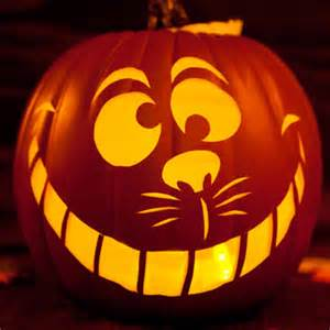 cat pumpkin template cheshire cat pumpkin carving template disney inspired
