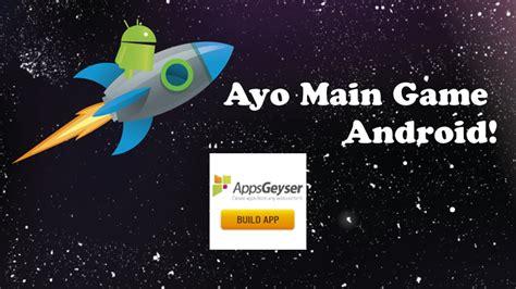 membuat game android membuat game android puzzle tanpa koding di appsgeyser com