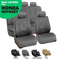 Seat Covers Honda Odyssey Honda Odyssey Leather Seat Covers Ebay