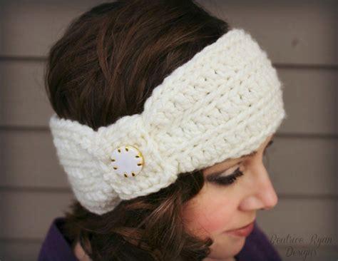 free pattern crochet headband wintertide headband free crochet pattern