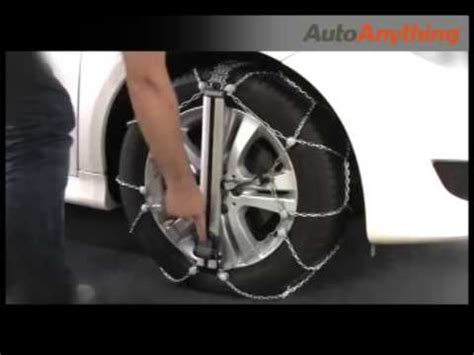 install thule easy fit tire chains fastest snow chains  youtube