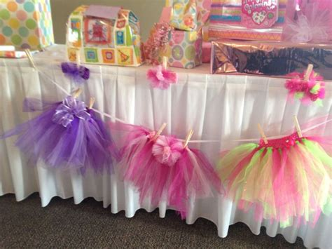 tutu themed baby shower decorations 25 best images about tutu decorations on tulle