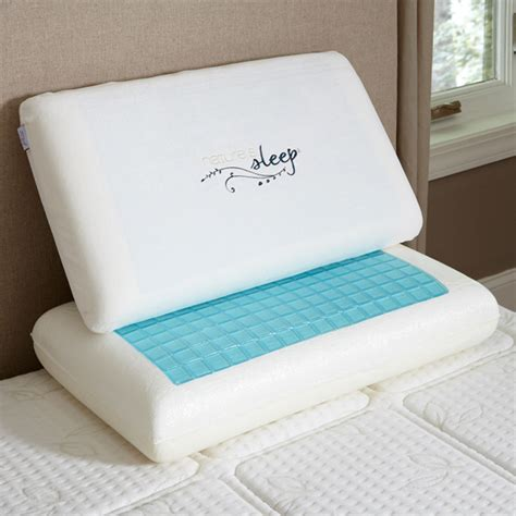 What Is A Memory Foam Pillow by Vitex Cool Gel Memory Foam Pillow Nature S Sleep