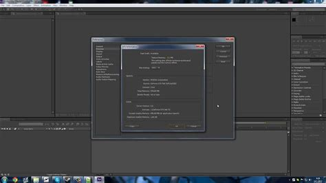 adobe premiere cs6 graphics card tutorial enable cuda on after effects premiere cs6 youtube