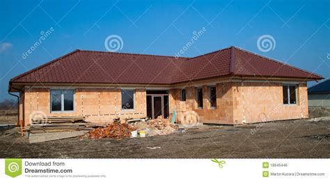 cost of constructing a new single family home in 2011 building of new single family house royalty free stock
