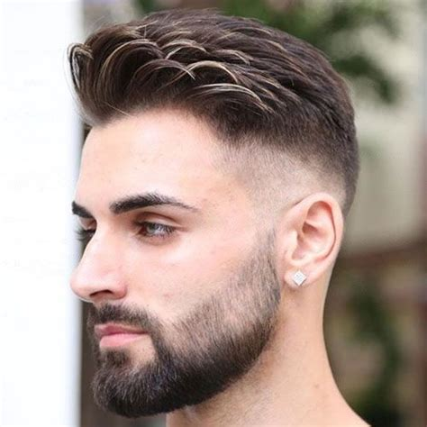 combed fade forward comb over fade haircut 2018 haircuts hair style and