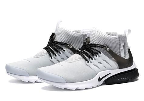 nike air presto mid utility wolf grey sneaker bar detroit