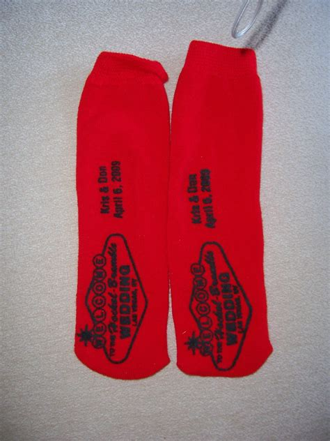 Vegas Themed Wedding Favors by Vegas Themed Wedding Grippy Socks