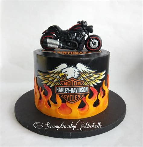 Harley Davidson Cake Decorations by Harley Davidson Cake Cake By Chan Cakesdecor