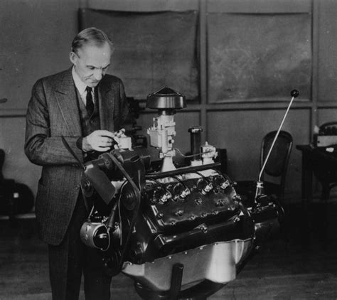 Ford Inventor Henry Ford Manufacturer And Inventor Of The