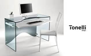 table pour ordinateur en verre bureau gamer archives bureaux prestige