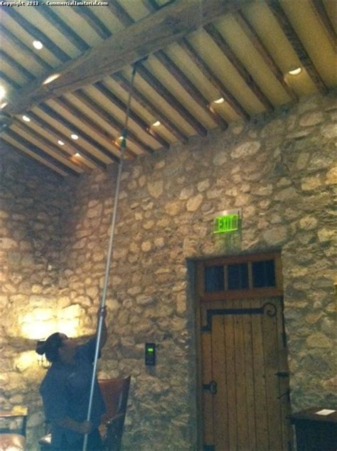 How To Clean High Ceilings by Cobweb Brush Image