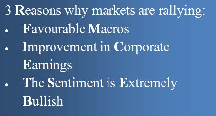 3 reasons why markets are rallying and what you should do about it