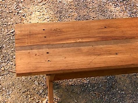 how to build a simple wooden bench how to build a distressed finish bench how tos diy