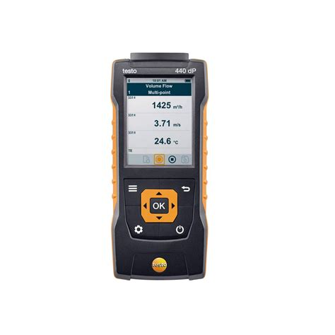 up in the air testo testo 440 dp air flow velocity iaq instrument with