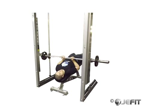 reverse grip decline bench press smith machine reverse decline close grip bench press