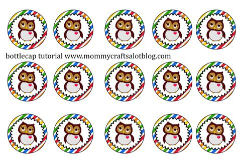 bottle cap images mommycraftsalot how to create bottlecap images in photoshop