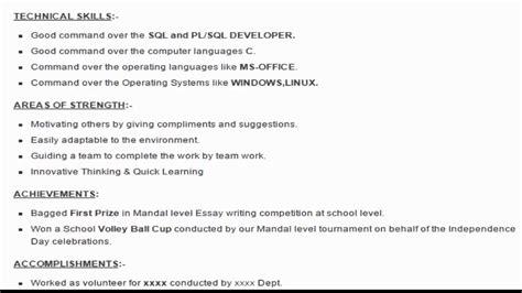 Sql Developer Sample Resume – Sql developer resume