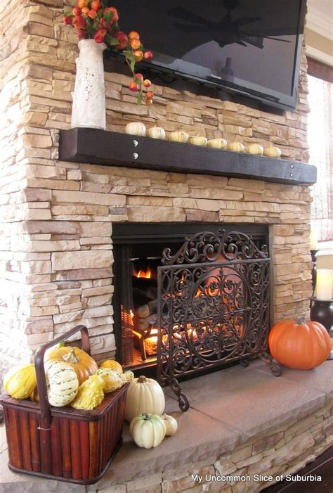 Decorative Stones For Fireplace by Best 20 Decorative Fireplace Ideas On