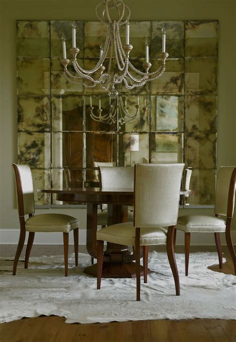 Mirror In Dining Room Interior Design by Interior Design Tips How To Decorate With A Mirror