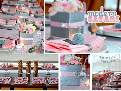 Pink And Gray Baby Shower Ideas by Baby Shower Ideas For On A Budget Baby Shower