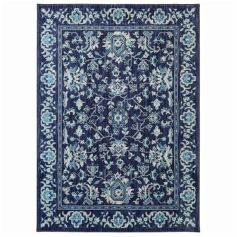 the jackson collection rugs home decorators collection jackson indigo 8 ft x 10 ft area rug 495954 the home depot