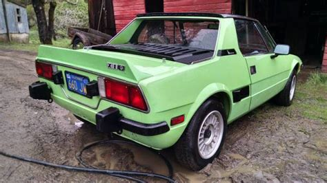 options 1974 fiat x1 9 project bring a trailer