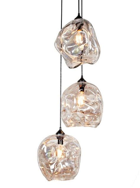 pendant set lighting pendant light set 3 pc set lighting glass by