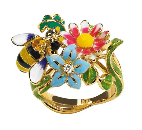 Diorette Rings by Garden Inspired Rings From Joaillerie