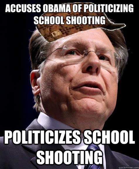 Obama Shooting Meme - accuses obama of politicizing school shooting politicizes