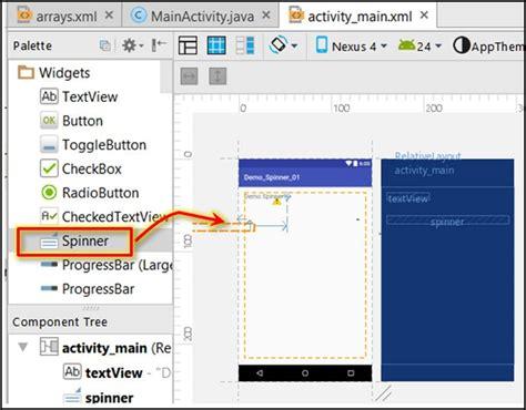 Word Vorlage Auf Jeder Seite Android Code Spinner Eine Einfache Dropdown Liste Erstellen Programmierer