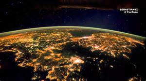 Google Hq Dublin earth at night seen from space iss hd 1080p original youtube