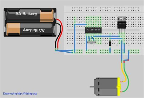 npn transistor motor driver tip31 tip120 as dc motor driver compare to mosfet electrical engineering stack exchange
