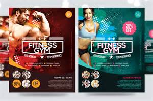 fitness flyer gym flyer v7 flyer templates on creative