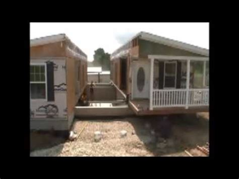 lalinda triplewide built in porch mobile modular home