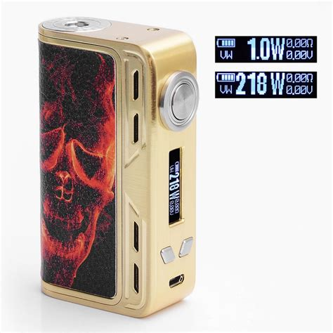 Mod Smoant Charon 218watt Authentic authentic smoant charon 218w tc vw blazing skull variable wattage mod