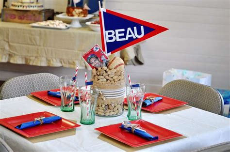 Baseball Baby Shower Ideas by Vintage Baseball Baby Shower Ideas Photo 2 Of 20