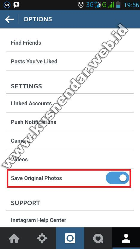 cara membuat instagram jadi 2 di iphone cara menyimpan otomatis foto instagram yang diupload ke hp