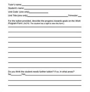 Students Progress Report Template sample student progress report 13 documents in pdf word