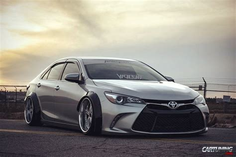 stanced toyota camry stance toyota camry 2016