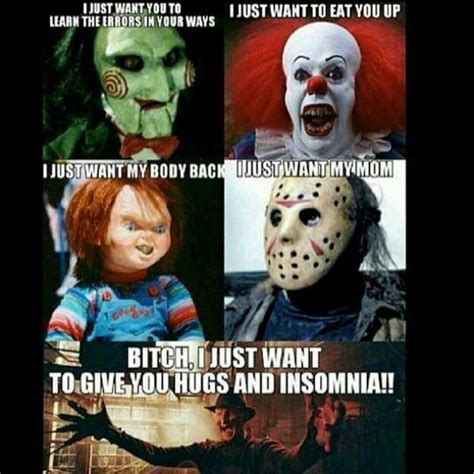 annabelle doll jokes clown horror pennywise scary on instagram
