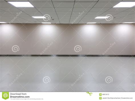 taking a stock of space lighting and design in your empty space of white room with ceiling light for gallery
