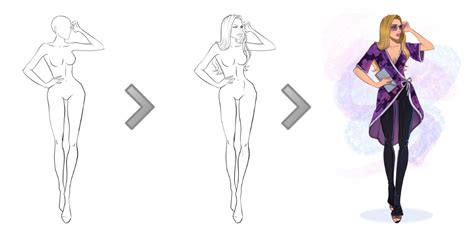 figure templates for fashion illustration free fashion templates i draw fashion