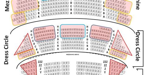 bank of america theater seating detailed bank of america theater seating chart where it