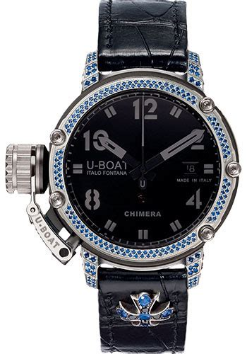 u boat watch chimera 43 limited edition u boat chimera 43mm stones watches from swissluxury