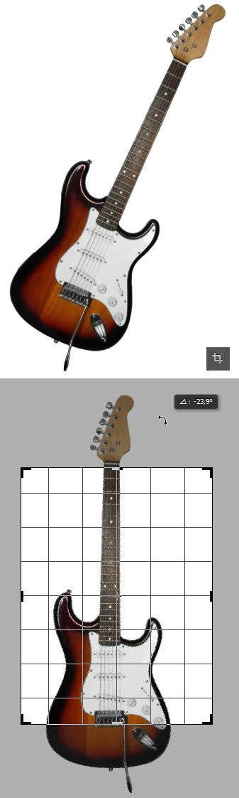 tutorial gitar zombie zombie design menggambar gitar listrik di photoshop