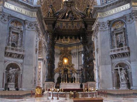 Baldacchino Di San Pietro by Foto Di Baldacchino Di San Pietro Di Bernini