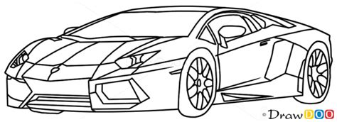 How To Draw A Lamborghini How To Draw Lamborghini Diablo Supercars Books