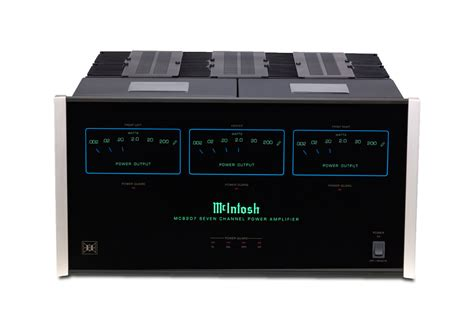 mcintosh mc8207 7 channel home theater power lifier