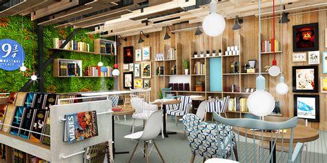 Book Shelf Cafe by Plasma Nodo